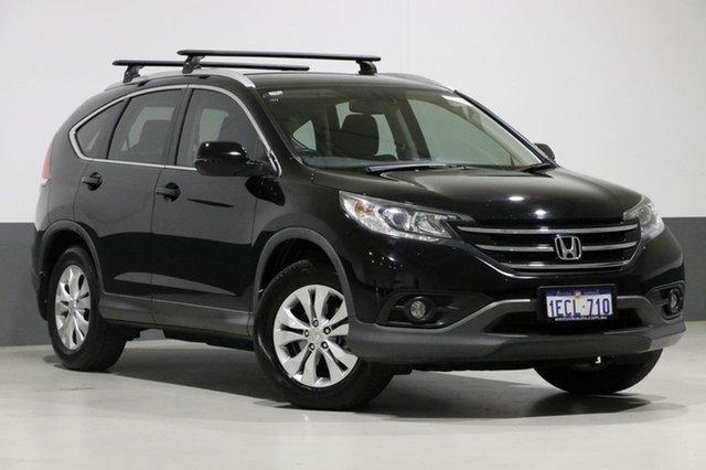 Used Honda CR-V 30 VTi-S (4x4), 2012 Honda CR-V 30 VTi-S (4x4) Black 5 Speed Automatic Wagon