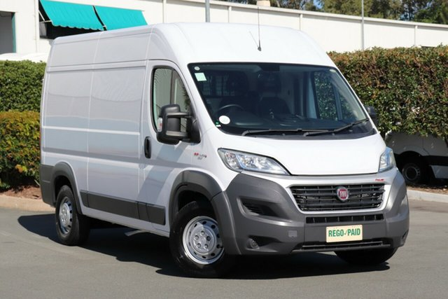 Used Fiat Ducato Series 6 Mid Roof MWB Comfort-matic, 2016 Fiat Ducato Series 6 Mid Roof MWB Comfort-matic White 6 Speed Sports Automatic Single Clutch