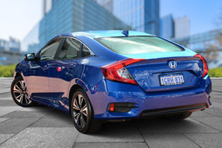 2018 Honda Civic 10th Gen MY18 VTi-L Brilliant Sporty Blue 1 Speed Constant Variable Sedan.