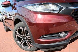 2017 Honda HR-V MY16 VTi-L Carnelian Red 1 Speed Constant Variable Hatchback.