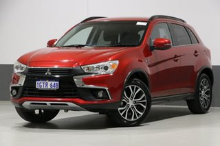 2017 Mitsubishi ASX XC MY17 LS (2WD) Red Continuous Variable Wagon.