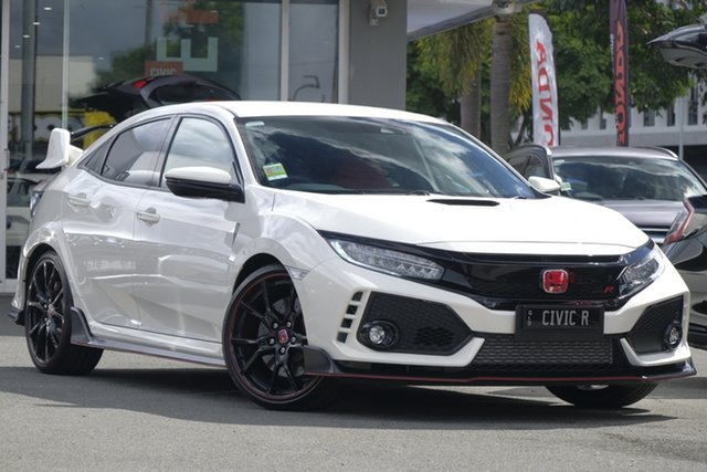 Demo Honda Civic 10th Gen MY18 Type R, 2018 Honda Civic 10th Gen MY18 Type R Championship White 6 Speed Manual Hatchback