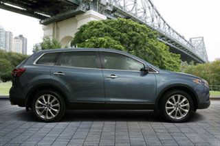 2014 Mazda CX-9 TB10A5 Luxury Activematic AWD Blue 6 Speed Sports Automatic Wagon.