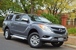2013 Mazda BT-50 UP0YF1 XTR Grey 6 Speed Sports Automatic Utility.