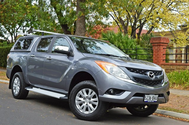 Used Mazda BT-50 UP0YF1 XTR, 2013 Mazda BT-50 UP0YF1 XTR Grey 6 Speed Sports Automatic Utility