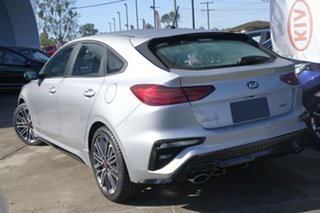 2021 Kia Cerato BD MY21 GT DCT Silky Silver 7 Speed Sports Automatic Dual Clutch Hatchback.