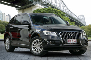 2014 Audi Q5 8R MY15 TDI S Tronic Quattro Black 7 Speed Sports Automatic Dual Clutch Wagon