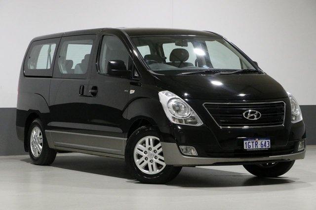 Used Hyundai iMAX TQ Series II (TQ3) , 2016 Hyundai iMAX TQ Series II (TQ3) Black 4 Speed Automatic Wagon