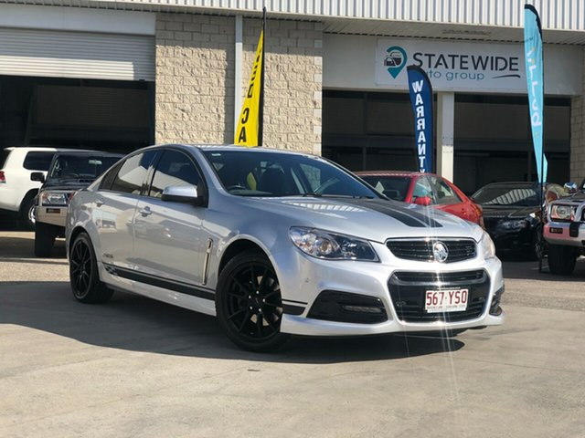 Used Holden Commodore VF MY14 SS, 2014 Holden Commodore VF MY14 SS Silver 6 Speed Sports Automatic Sedan