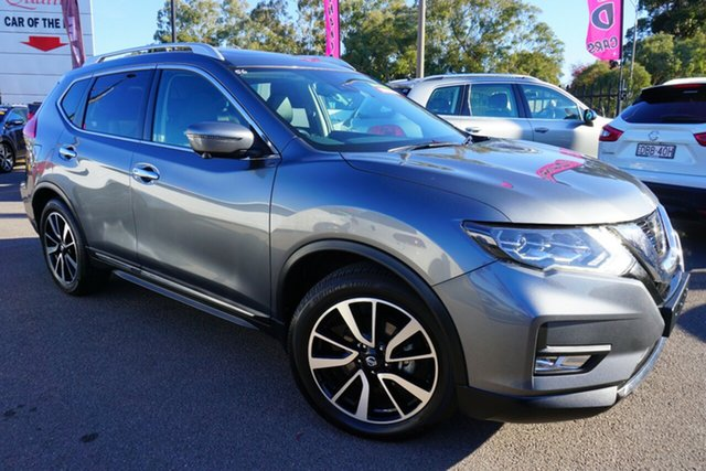 Used Nissan X-Trail T32 Series II Ti X-tronic 4WD, 2018 Nissan X-Trail T32 Series II Ti X-tronic 4WD Grey 7 Speed Constant Variable Wagon