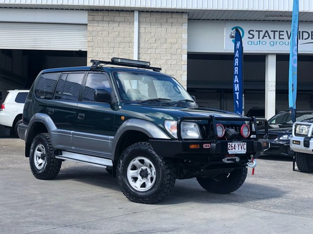 Used Toyota Landcruiser Prado  , 1998 Toyota Landcruiser Prado Green 5 Speed Manual Wagon