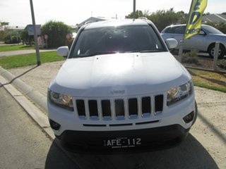 2015 Jeep Compass MK MY15 North White 6 Speed Sports Automatic Wagon.