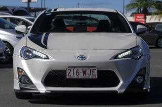 2015 Toyota 86 ZN6 Blackline Edition Pearl White 6 Speed Sports Automatic Coupe