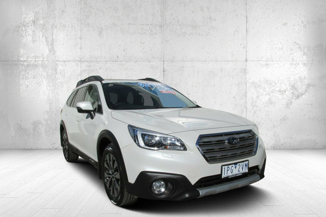 Used Subaru Outback B6A MY15 2.0D CVT AWD Premium, 2014 Subaru Outback B6A MY15 2.0D CVT AWD Premium White 7 Speed Constant Variable Wagon