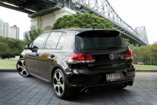 2011 Volkswagen Golf VI MY11 GTi Black 6 Speed Manual Hatchback