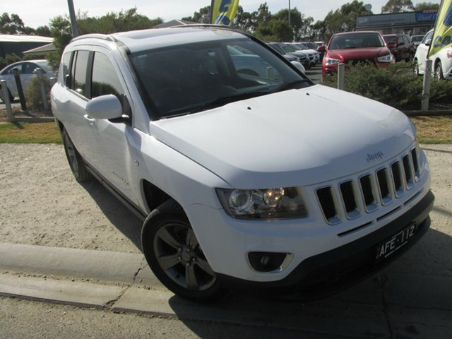 Used Jeep Compass MK MY15 North, 2015 Jeep Compass MK MY15 North White 6 Speed Sports Automatic Wagon