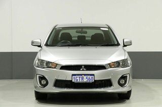 2016 Mitsubishi Lancer CF ES Sport Silver 6 Speed CVT Auto Sequential Sedan.