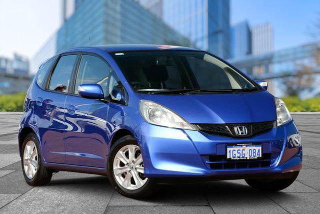 Used Honda Jazz GE MY12 Vibe, 2012 Honda Jazz GE MY12 Vibe Blue 5 Speed Manual Hatchback