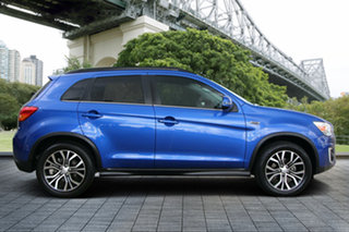 2016 Mitsubishi ASX XB MY15.5 XLS 2WD Blue 6 Speed Constant Variable Wagon.