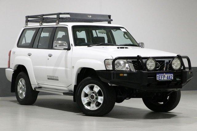 Used Nissan Patrol GU VIII ST (4x4), 2013 Nissan Patrol GU VIII ST (4x4) White 5 Speed Manual Wagon