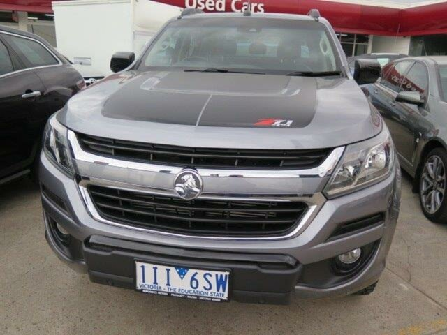 Used Holden Colorado RG MY17 Z71 Pickup Crew Cab, 2016 Holden Colorado RG MY17 Z71 Pickup Crew Cab Steel Grey 6 Speed Sports Automatic Utility
