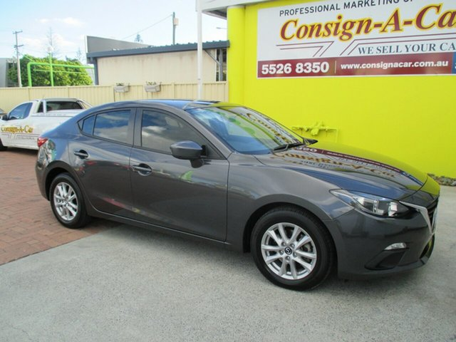 Used Mazda 3 BM5278 Neo SKYACTIV-Drive, 2014 Mazda 3 BM5278 Neo SKYACTIV-Drive Grey 6 Speed Sports Automatic Sedan