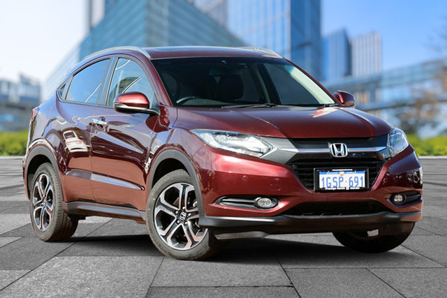 Used Honda HR-V MY16 VTi-L, 2017 Honda HR-V MY16 VTi-L Carnelian Red 1 Speed Constant Variable Hatchback