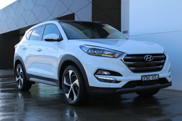 Demo Hyundai Tucson  Highlander, 2018 Hyundai Tucson Highlander Polar White 6 Speed Automatic Wagon