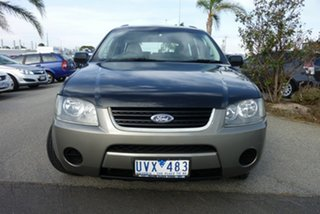 2007 Ford Territory SY TS Black 4 Speed Sports Automatic Wagon.