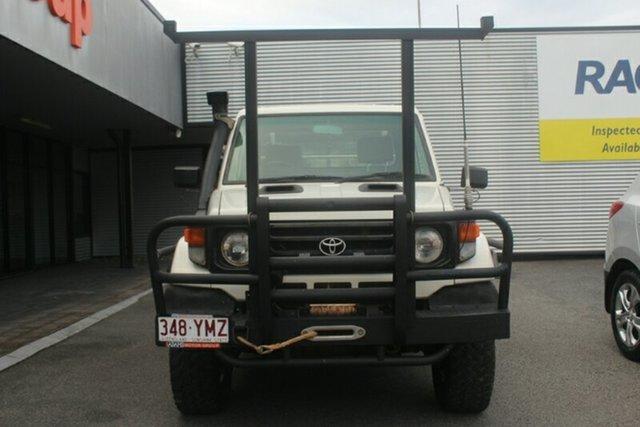 Used Toyota Landcruiser HZJ79R , 2000 Toyota Landcruiser HZJ79R White 5 Speed Manual Cab Chassis