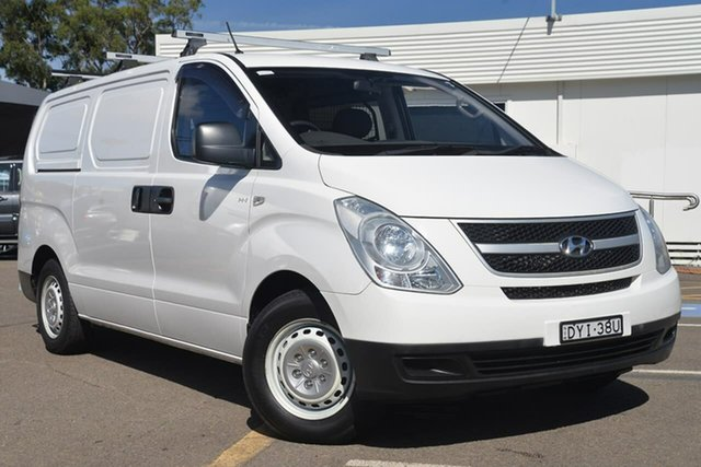 Used Hyundai iLOAD TQ2-V MY13 , 2013 Hyundai iLOAD TQ2-V MY13 White 6 Speed Manual Van
