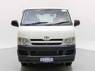 2007 Toyota HiAce KDH201R MY07 LWB White 5 Speed Manual Van.