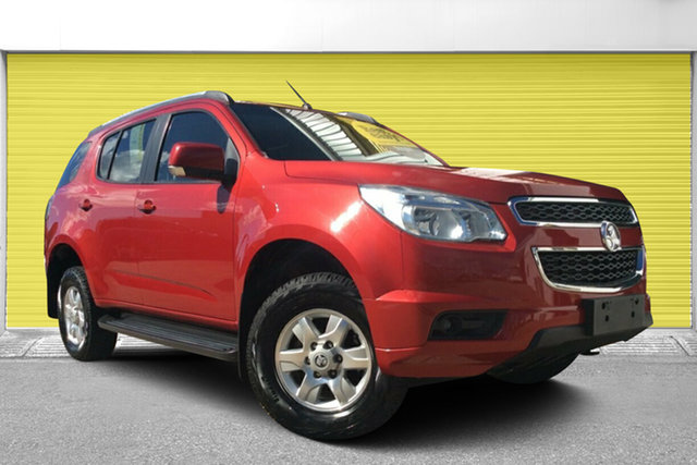 Used Holden Colorado 7 RG MY14 LT, 2014 Holden Colorado 7 RG MY14 LT Red 6 Speed Sports Automatic Wagon