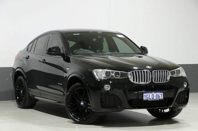 Used BMW X4 F26 MY16 xDrive 35I, 2017 BMW X4 F26 MY16 xDrive 35I Black 8 Speed Automatic Coupe