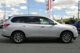2013 Nissan Pathfinder R52 MY14 ST X-tronic 2WD Silver 1 Speed Constant Variable Wagon.