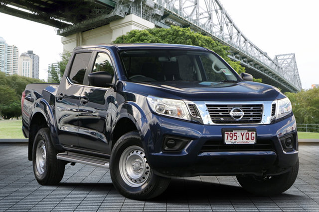 Demo Nissan Navara D23 S3 SL, 2018 Nissan Navara D23 S3 SL Deep Sapphire 6 Speed Manual Utility