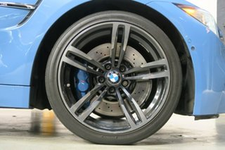 2014 BMW M4 F82 M-DCT Blue 7 Speed Sports Automatic Dual Clutch Coupe