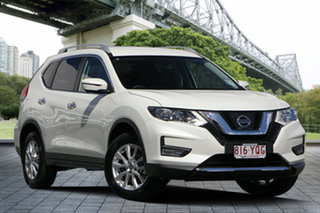 2018 Nissan X-Trail T32 Series II ST-L X-tronic 2WD Ivory Pearl 7 Speed Constant Variable Wagon.
