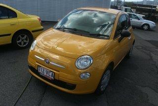 2014 Fiat 500 Series 1 POP Yellow 5 Speed Manual Hatchback.