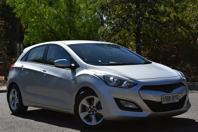 Used Hyundai i30 GD Active, 2013 Hyundai i30 GD Active Silver 6 Speed Sports Automatic Hatchback
