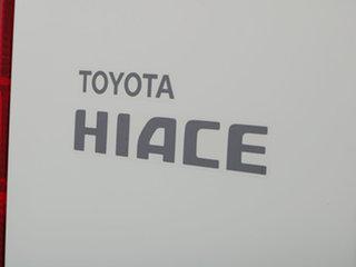2007 Toyota HiAce KDH201R MY07 LWB White 5 Speed Manual Van