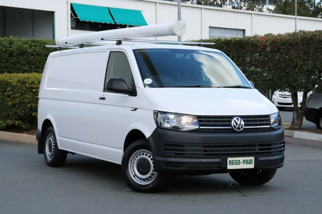 Used Volkswagen Transporter T6 MY17 TDI340 LWB DSG, 2017 Volkswagen Transporter T6 MY17 TDI340 LWB DSG White 7 Speed Sports Automatic Dual Clutch Van