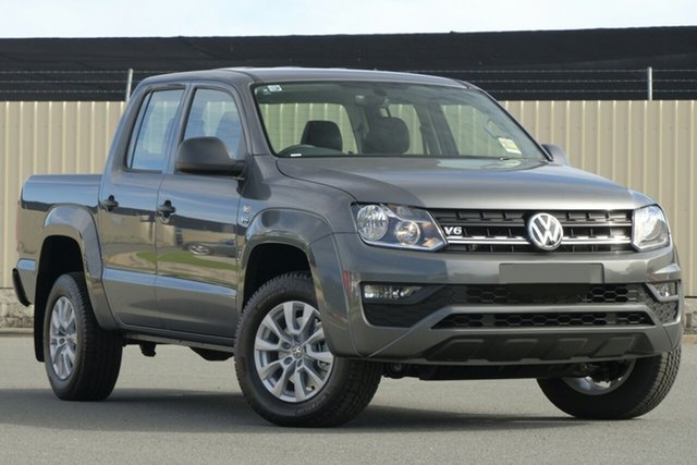 New Volkswagen Amarok 2H MY19 TDI550 4MOTION Perm Core, 2018 Volkswagen Amarok 2H MY19 TDI550 4MOTION Perm Core Indium Grey 8 Speed Automatic Utility