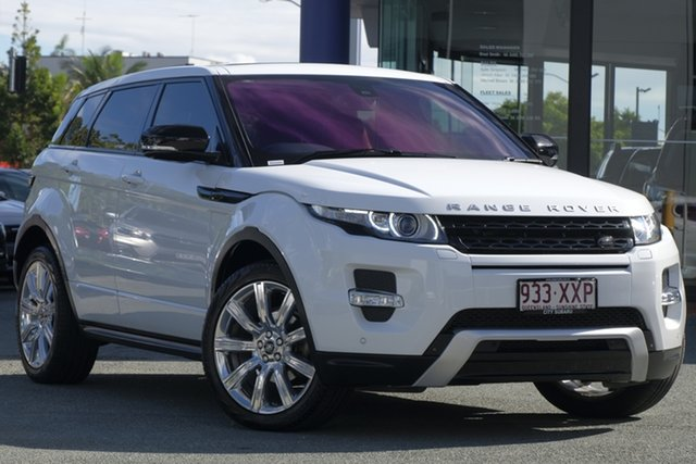 Used Land Rover Range Rover Evoque L538 MY13.5 SD4 CommandShift Dynamic, 2013 Land Rover Range Rover Evoque L538 MY13.5 SD4 CommandShift Dynamic White 6 Speed