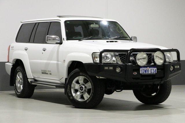 Used Nissan Patrol GU VII TI (4x4), 2011 Nissan Patrol GU VII TI (4x4) White 4 Speed Automatic Wagon