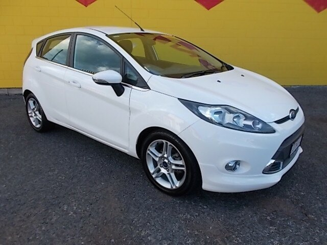 Used Ford Fiesta WT Zetec, 2012 Ford Fiesta WT Zetec White 5 Speed Manual Hatchback