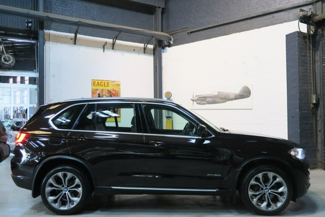 Used BMW X5 F15 xDrive30d, 2014 BMW X5 F15 xDrive30d Brown 8 Speed Sports Automatic Wagon