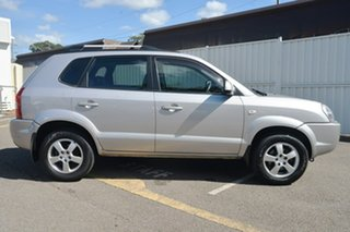 2005 Hyundai Tucson JM City Silver 4 Speed Sports Automatic Wagon.