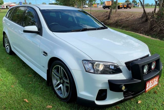 Used Holden Commodore VE II MY12.5 SV6 Sportwagon, 2012 Holden Commodore VE II MY12.5 SV6 Sportwagon White 6 Speed Automatic Wagon