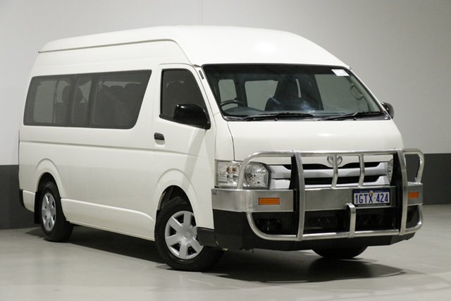 Used Toyota HiAce KDH223R MY14 Commuter, 2015 Toyota HiAce KDH223R MY14 Commuter White 5 Speed Manual Bus